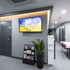 Отель Philstay Myeongdong Metro Южная Корея, Сеул - отзывы, цены и фото номеров - забронировать отель Philstay Myeongdong Metro онлайн интерьер отеля