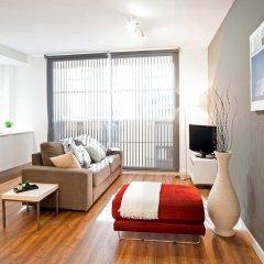 Апартаменты Feelathome Poblenou Beach Apartments Барселона комната для гостей фото 9