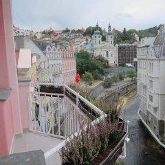 Отель Madonna Apartments Чехия, Карловы Вары - отзывы, цены и фото номеров - забронировать отель Madonna Apartments онлайн балкон