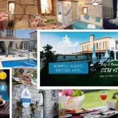 Windmill Alacati Boutique Hotel Турция, Чешме - отзывы, цены и фото номеров - забронировать отель Windmill Alacati Boutique Hotel онлайн питание фото 2