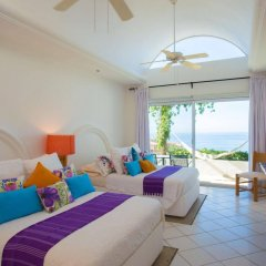 Отель Villa Cerca Del Cielo Мексика, Педрегал - отзывы, цены и фото номеров - забронировать отель Villa Cerca Del Cielo онлайн комната для гостей фото 2