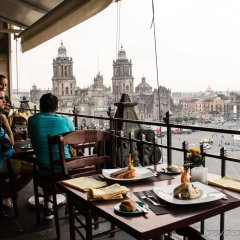 Gran Hotel Ciudad De Mexico Мехико питание