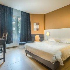 Отель Lambeau Бельгия, Брюссель - отзывы, цены и фото номеров - забронировать отель Lambeau онлайн комната для гостей фото 4