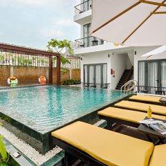Отель KA Villa Hoi An бассейн