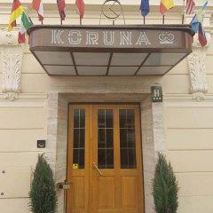 Hotel Koruna вид на фасад фото 2