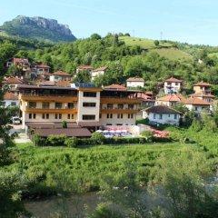 Отель Family Hotel Enica Болгария, Тетевен - отзывы, цены и фото номеров - забронировать отель Family Hotel Enica онлайн вид на фасад