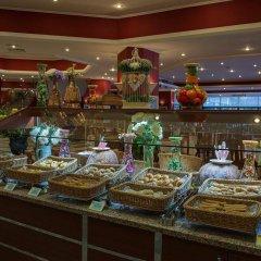 Miramare Beach Hotel Турция, Сиде - 1 отзыв об отеле, цены и фото номеров - забронировать отель Miramare Beach Hotel онлайн питание фото 2