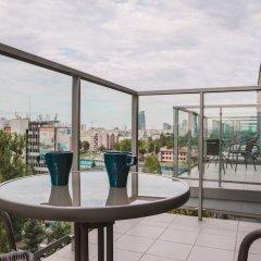 Отель Chill Apartments Bliska Wola Польша, Варшава - отзывы, цены и фото номеров - забронировать отель Chill Apartments Bliska Wola онлайн балкон