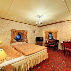 Отель Chateau St. Havel - wellness Hotel Чехия, Прага - отзывы, цены и фото номеров - забронировать отель Chateau St. Havel - wellness Hotel онлайн комната для гостей фото 5