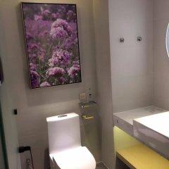 Отель Lavade Hotel Gz Railway Station Branch Китай, Гуанчжоу - отзывы, цены и фото номеров - забронировать отель Lavade Hotel Gz Railway Station Branch онлайн ванная