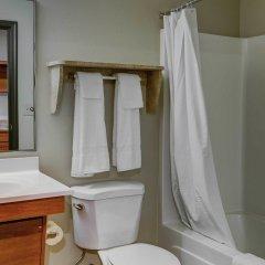 Отель Woodspring Suites Columbus Hilliard Колумбус ванная