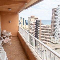 Отель Apartamentos Concorde балкон