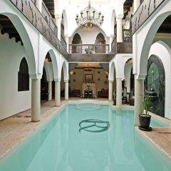 Отель Riad Opale Марокко, Марракеш - отзывы, цены и фото номеров - забронировать отель Riad Opale онлайн бассейн фото 3
