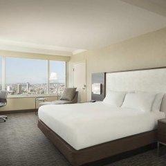 Отель Hilton San Francisco Union Square 4* Полулюкс с двуспальной кроватью