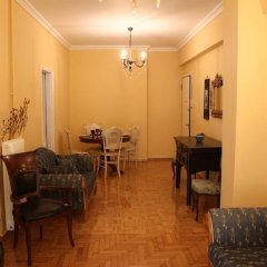 Апартаменты Spacious apartment in central Athens питание
