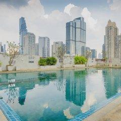 Отель Sathorn Grace Serviced Residence Таиланд, Бангкок - отзывы, цены и фото номеров - забронировать отель Sathorn Grace Serviced Residence онлайн бассейн фото 2