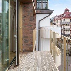 Отель Avenyn - Företagsbostäder Швеция, Гётеборг - отзывы, цены и фото номеров - забронировать отель Avenyn - Företagsbostäder онлайн балкон