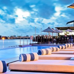Отель Radisson Blu Anchorage Лагос приотельная территория