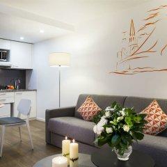 Отель Citadines Presqu'île Lyon Франция, Лион - отзывы, цены и фото номеров - забронировать отель Citadines Presqu'île Lyon онлайн комната для гостей фото 4