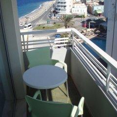 Отель Nafsika Hotel Греция, Родос - отзывы, цены и фото номеров - забронировать отель Nafsika Hotel онлайн балкон