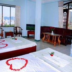 Queen 3 Hotel Нячанг комната для гостей фото 3