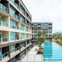 Отель JJ Airport Condotel Таиланд, пляж Май Кхао - отзывы, цены и фото номеров - забронировать отель JJ Airport Condotel онлайн бассейн фото 2