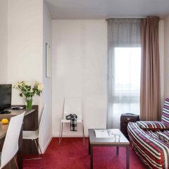 Отель Aparthotel Adagio Access La Villette Париж комната для гостей фото 3
