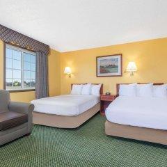 Отель Days Inn by Wyndham Great Bend США, Хойзингтон - отзывы, цены и фото номеров - забронировать отель Days Inn by Wyndham Great Bend онлайн комната для гостей фото 4
