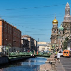 Апартаменты Home4day Apartment on Griboyedov Canal фото 2