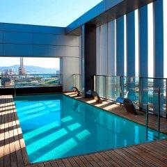 Hotel SB Diagonal Zero Barcelona бассейн