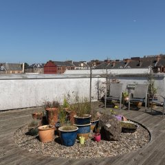 Апартаменты Hillhead Apartment with Roof terrace Глазго пляж