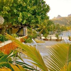 Отель Village Temanuata Французская Полинезия, Бора-Бора - отзывы, цены и фото номеров - забронировать отель Village Temanuata онлайн пляж фото 2