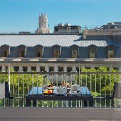 Отель NH Collection Madrid Suecia Испания, Мадрид - 1 отзыв об отеле, цены и фото номеров - забронировать отель NH Collection Madrid Suecia онлайн балкон