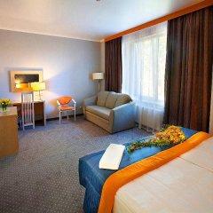 Гостиница Аэроотель Краснодар 3* Стандартный номер с двуспальной кроватью фото 14