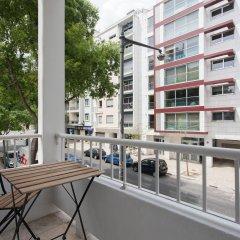 Отель Be Lisbon Hostel Португалия, Лиссабон - отзывы, цены и фото номеров - забронировать отель Be Lisbon Hostel онлайн балкон