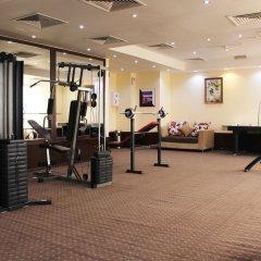 Отель Al Khaleej Plaza Дубай фитнесс-зал фото 3