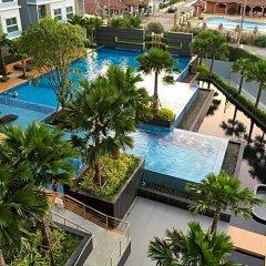 Отель The Trust Condo South Pattaya Таиланд, Паттайя - отзывы, цены и фото номеров - забронировать отель The Trust Condo South Pattaya онлайн бассейн фото 3