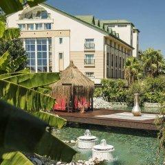 Alva Donna Exclusive Hotel & Spa – All Inclusive Богазкент приотельная территория