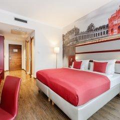 Отель Amedia Plaza Dresden Германия, Дрезден - 2 отзыва об отеле, цены и фото номеров - забронировать отель Amedia Plaza Dresden онлайн комната для гостей фото 5