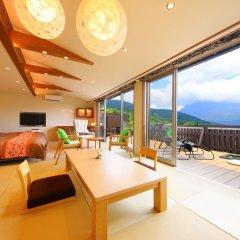 Отель Asagirinomieru Yado Yufuin Hanayoshi Хидзи комната для гостей фото 3