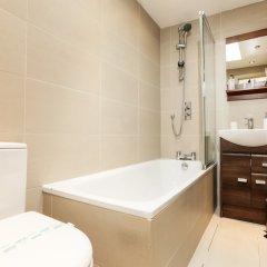 Отель CDP Apartments – Belsize Park Великобритания, Лондон - отзывы, цены и фото номеров - забронировать отель CDP Apartments – Belsize Park онлайн ванная фото 2