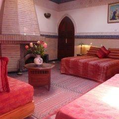 Отель Dar Al Kounouz Марокко, Марракеш - отзывы, цены и фото номеров - забронировать отель Dar Al Kounouz онлайн комната для гостей фото 4