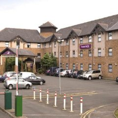 Отель Premier Inn Glasgow Airport Пейсли парковка