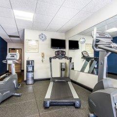 Отель Comfort Suites Effingham фитнесс-зал