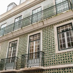 Отель Rossio Convento Da Encarnação Лиссабон вид на фасад
