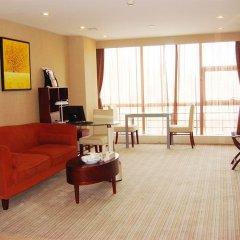 Отель Golden Central Hotel Shenzhen Китай, Шэньчжэнь - отзывы, цены и фото номеров - забронировать отель Golden Central Hotel Shenzhen онлайн комната для гостей фото 5