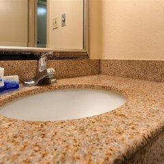 Отель Best Western Center Inn США, Вирджиния-Бич - отзывы, цены и фото номеров - забронировать отель Best Western Center Inn онлайн ванная фото 2