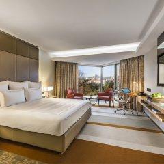 Отель Swissotel The Bosphorus Istanbul 5* Стандартный номер двуспальная кровать фото 2