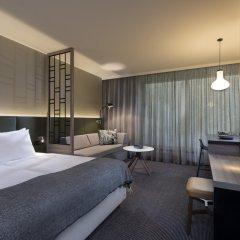 Отель Adina Apartment Hotel Hamburg Speicherstadt Германия, Гамбург - 1 отзыв об отеле, цены и фото номеров - забронировать отель Adina Apartment Hotel Hamburg Speicherstadt онлайн комната для гостей фото 2