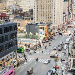 Отель Econo Lodge Times Square США, Нью-Йорк - 1 отзыв об отеле, цены и фото номеров - забронировать отель Econo Lodge Times Square онлайн балкон